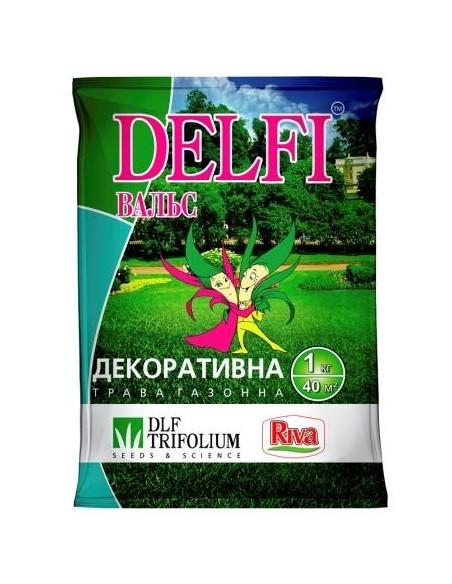 Газонная трава DELFI декоративная Вальс, 1 кг