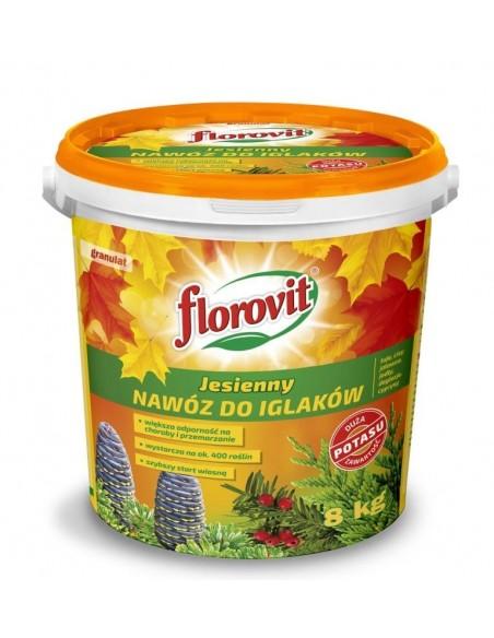 Florovit для хвойных осеннее, 8 кг