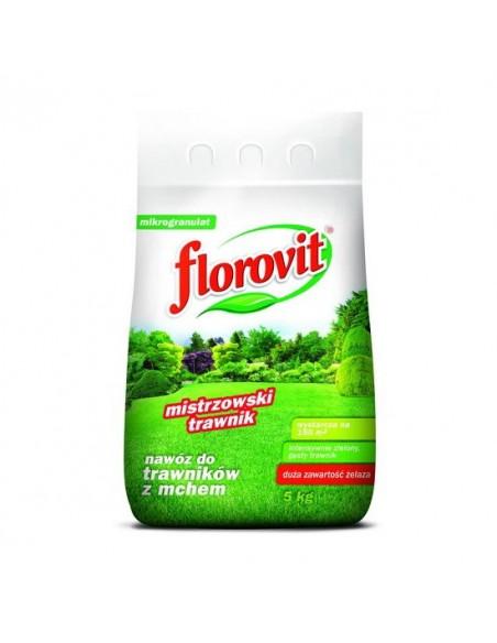 Florovit (Флоровит) для газонов пораженных мхом, 5 кг