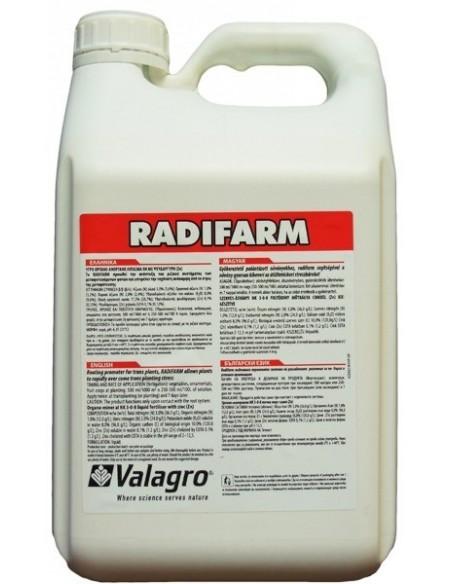 РАДИФАРМ / RADIFARM - биостимулятор роста корневой системы, Valagro, 5 л