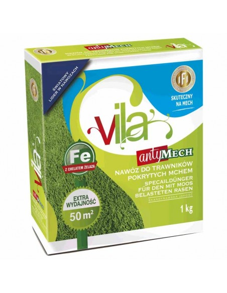 Yara Vila для газонов Антимох, 3 кг