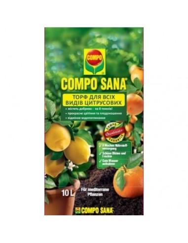 Компо Сана Торфосмесь для цитрусовых растений 10л