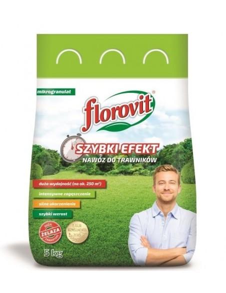 Florovit (Флоровіт) для газону швидкої дії, 5 кг