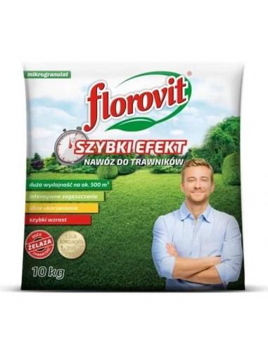 Florovit (Флоровіт) для газону швидкої дії, 10 кг