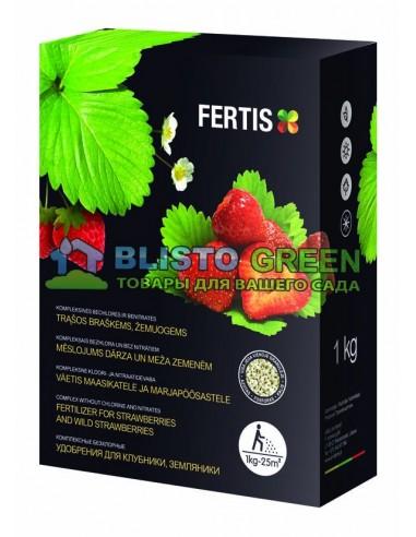 Удобрение Arvi Fertis НПК 11-9-20+МЕ для клубники и земляники 1 кг