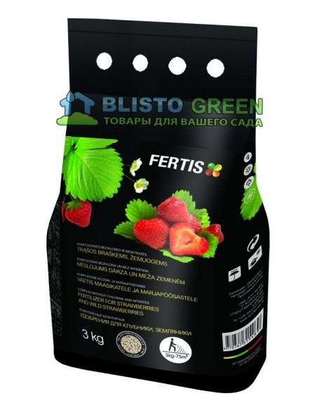 Добриво Arvi Fertis НПК 11-9-20+МЕ для полуниці, суниці 3 кг