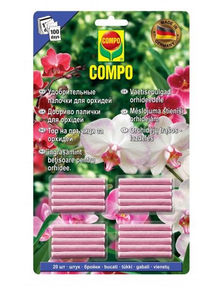 Удобрение-палочки Compo (Компо) для орхидей 20 шт