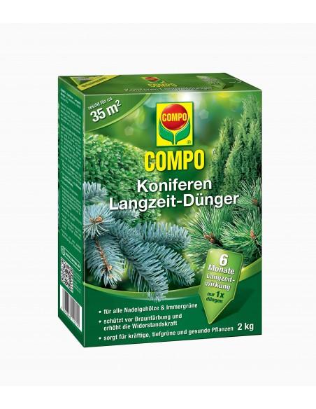 Твердое удобрение Compo (Компо) для хвойных, 2 кг