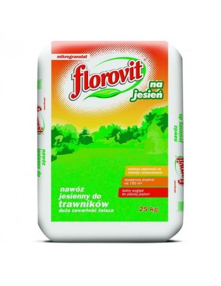 Florovit для газонов осеннее 25 кг