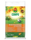 Твёрдое удобрение длительного действия для газонов, осень, COMPO, 4 кг