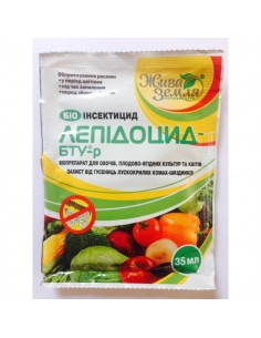 ЛЕПИДОЦИД - БТУ-р, Био- инсектицид