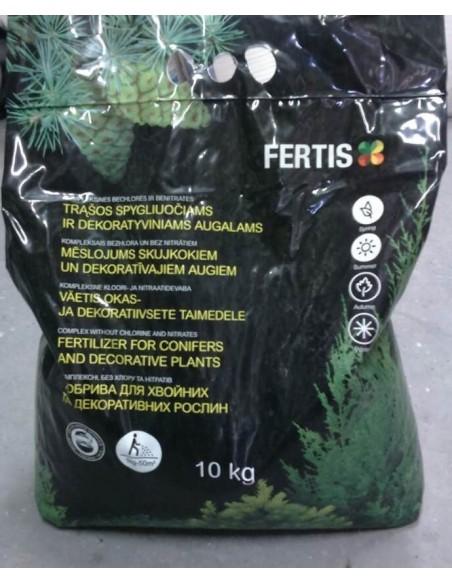 Удобрение Arvi Fertis 12-6- 18 + ME для хвойных и декоративных растений 10 кг