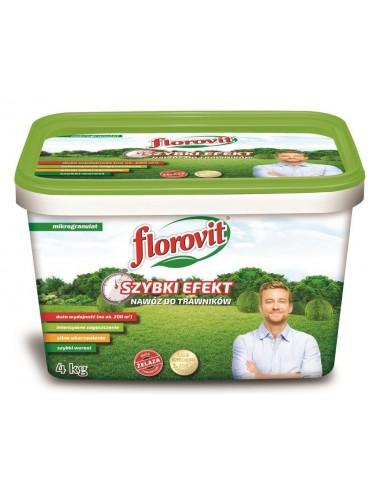 Florovit для газонов быстрого действия, 4 кг