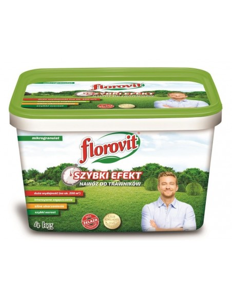 Florovit (Флоровит) для газонов быстрого действия, 4 кг