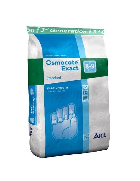 Osmocote (Осмокот) Exact 8-9 standart 15+9+12+2+TE (8-9 месяцев) 25кг