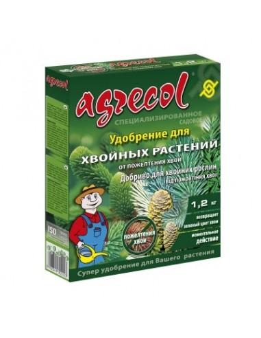 Agrecol (Агрикол) удобрения для хвойных от пожелтения 1,2 кг