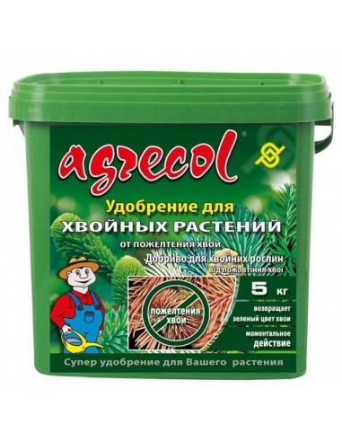 Agrecol (Агрикол) удобрения для хвойных от пожелтения 5 кг