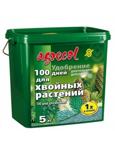 Agrecol (Агрикол) 100 дней удобрения для хвойных 5 кг