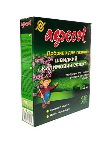 Agrecol (Агрикол) Удобрение для газонов быстрый ковровый эффект 1,2 кг