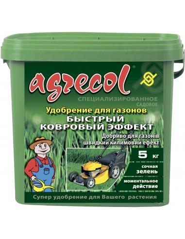 Agrecol (Агрикол) Удобрение для газонов быстрый ковровый эффект 5 кг