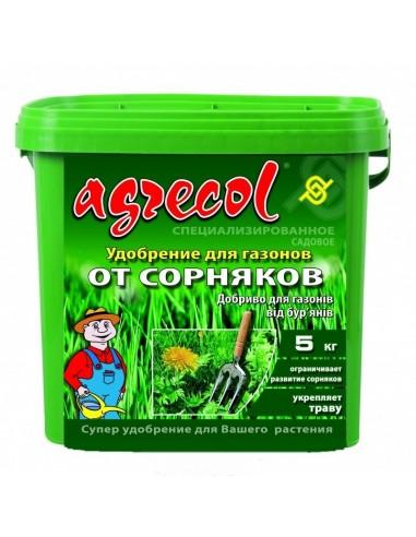 Agrecol (Агрикол) Удобрение для газона от сорняков 5 кг