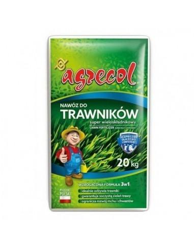 Agrecol (Агрикол) удобрения для газонов Super многокомпонентное 20 кг