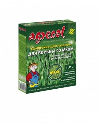 Agrecol (Агрикол) Удобрение для газона против мха 1,2 кг