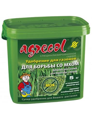 Agrecol (Агрикол) Удобрение для газона против мха 5 кг