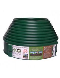Бордюр Кантри пластиковый зеленый
