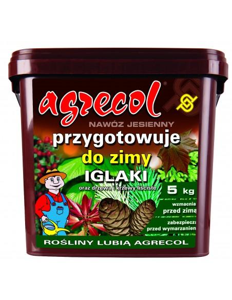 Удобрение Agrecol (Агрикол) осеннее для хвойных 5 кг