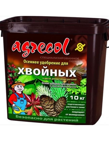 Удобрение Agrecol (Агрикол) осеннее для хвойных 10 кг