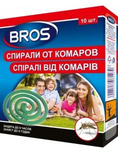 Спирали Bros от комаров 10 шт
