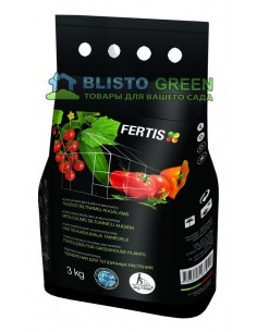 Удобрение Arvi Fertis НПК 12-8-16+МЕ для растений выращиваемых в теплицах 3 кг