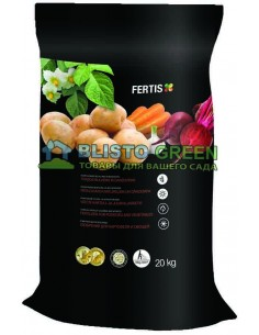 Удобрение Arvi Fertis НПК 11-9-20+МЕ для картофеля и овощей 20 кг