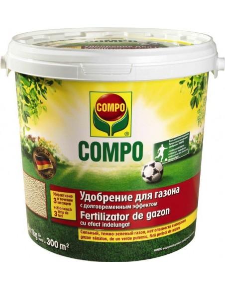 КОМПО ( COMPO) удобрение длительного действия для газонов, 8 кг